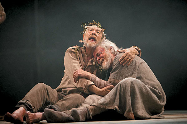 The journey of a man into a king in shakespeares king lear