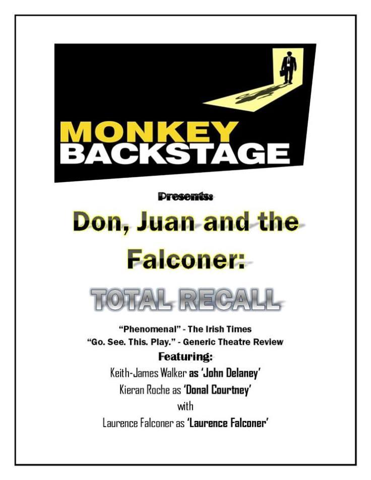 Monkey Funraiser Poster